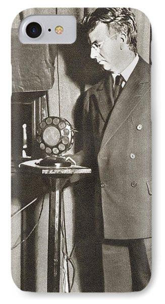 John Logie Baird, 1888 - 1946. Scottish IPhone Case
