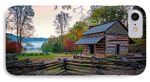 John Oliver Place In Cades Cove IPhone Case by Rick Berk