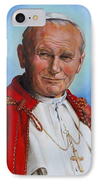 John Paul II IPhone Case by Irek Szelag