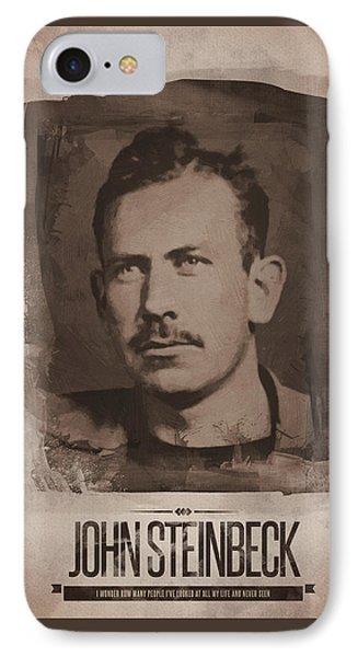 John Steinbeck IPhone Case