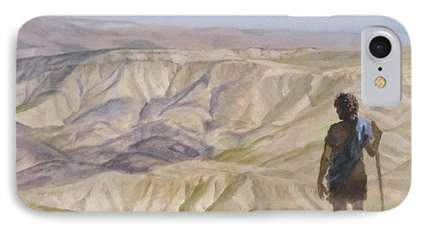 John The Baptist In The Desert IPhone Case