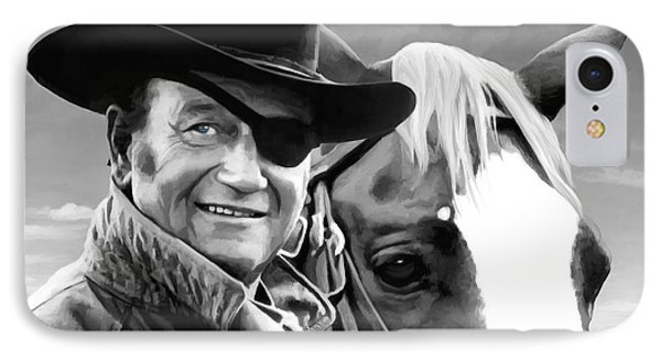 John Wayne @ True Grit #1 Phone Case by Gabriel T Toro