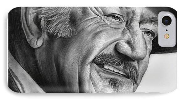John Wayne IPhone Case by Greg Joens