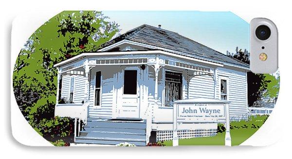 John Wayne Home IPhone Case