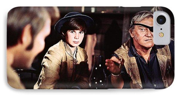 John Wayne - True Grit IPhone Case by The Titanic Project