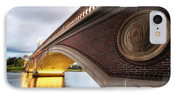 John Weeks Bridge Charles River Harvard Square Cambridge Ma IPhone Case by Toby McGuire