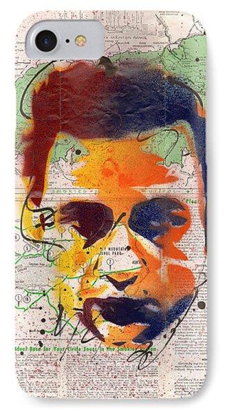 Johnny Cash - Gatlinburg Tennessee IPhone Case by Ryan  Hopkins