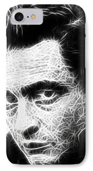 Johnny Cash Phone Case by Paul Van Scott