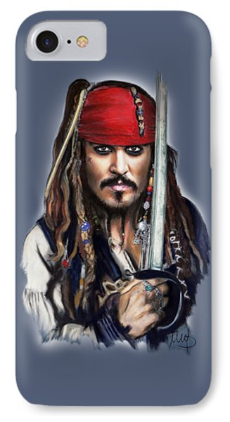 Johnny Depp As Jack Sparrow IPhone 7 Case
