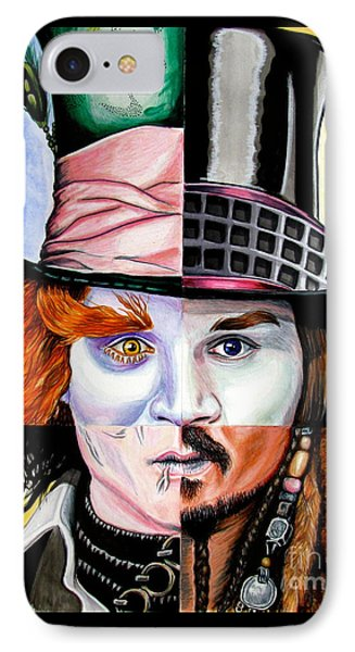 Johnny Depp's Greatest IPhone Case by Andres Machado