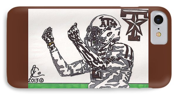 Johnny Manziel 10 Change The Play IPhone Case