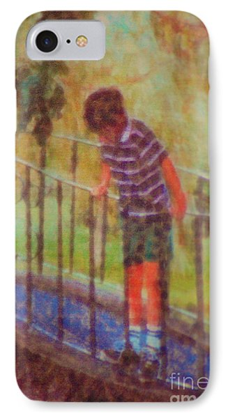 John's Reflection IPhone Case by Donna Bentley