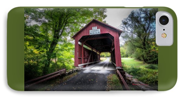 Johnson Covered Bridge IPhone Case
