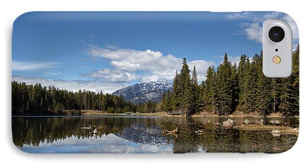 Johnson Lake Reflections IPhone Case