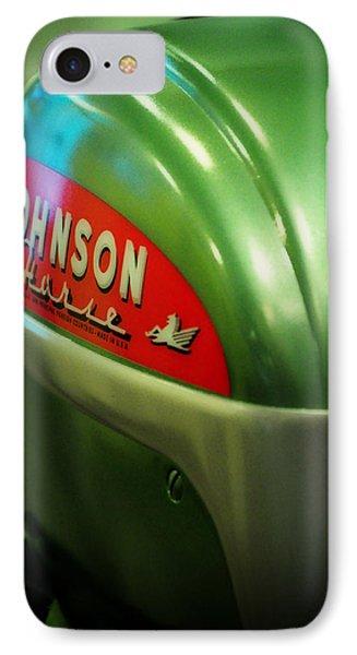 Johnson Sea Horse  IPhone Case by Rebecca Sherman