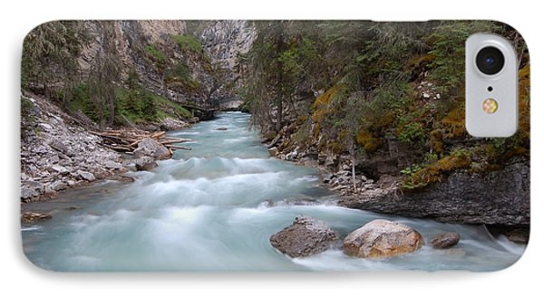 Johnston Canyon In Banff National Park IPhone Case by RicardMN Photography