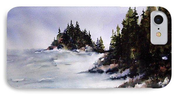 IPhone Case featuring the painting Johnstone Strait by Marti Green