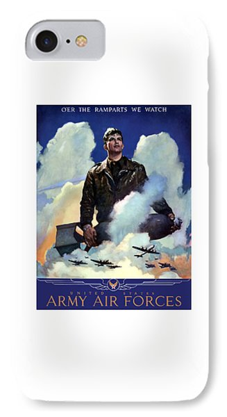 Join The Army Air Forces Phone Case by War Is Hell Store