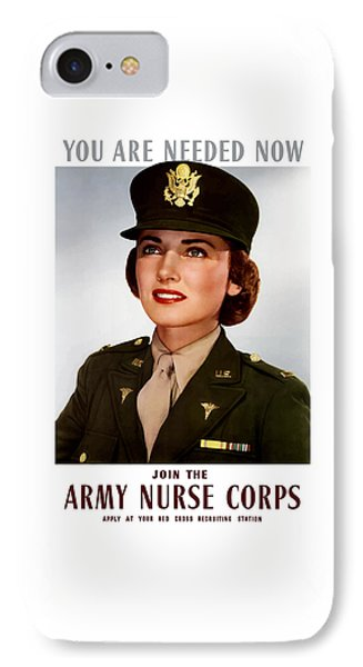 Join The Army Nurse Corps IPhone Case