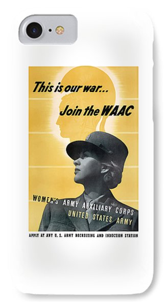 Join The Waac Phone Case by War Is Hell Store