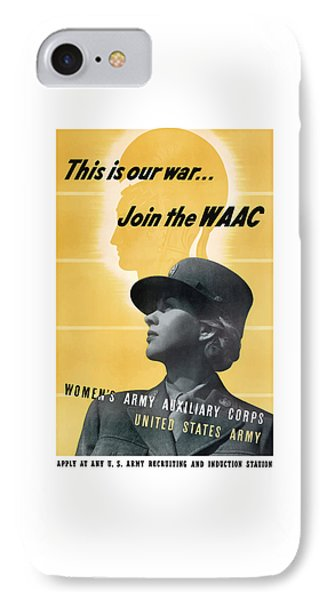 Join The Waac IPhone Case by War Is Hell Store