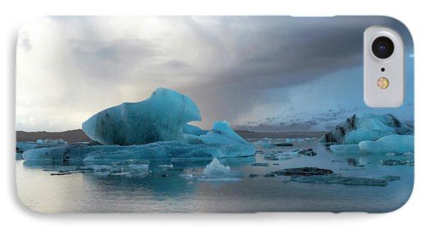 IPhone Case featuring the photograph Jokulsarlon, The Glacier Lagoon, Iceland 4 by Dubi Roman