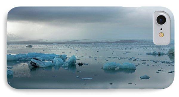 IPhone Case featuring the photograph Jokulsarlon, The Glacier Lagoon, Iceland 1 by Dubi Roman