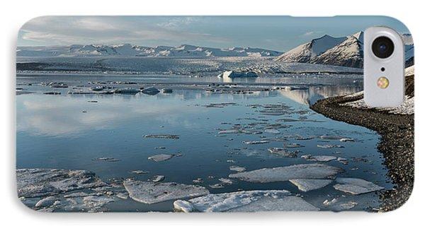 IPhone Case featuring the photograph Jokulsarlon Ice Lagoon - Iceland by Sandra Bronstein