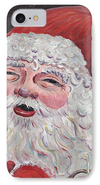 Jolly Santa Phone Case by Nadine Rippelmeyer