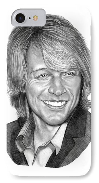 Jon Bon Jovi Phone Case by Murphy Elliott
