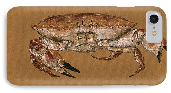 Jonah Crab IPhone Case by Juan  Bosco