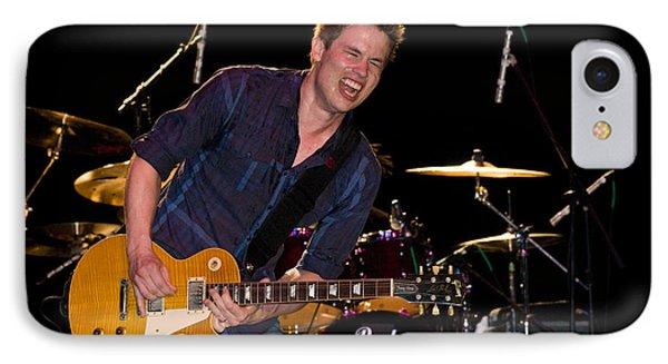 Jonny Lang Rocks His 1958 Les Paul Gibson Guitar IPhone Case