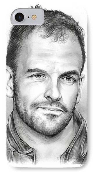 Jonny Lee Miller IPhone Case by Greg Joens