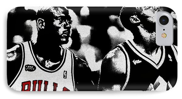 Jordan And Malone 2e IPhone Case by Brian Reaves