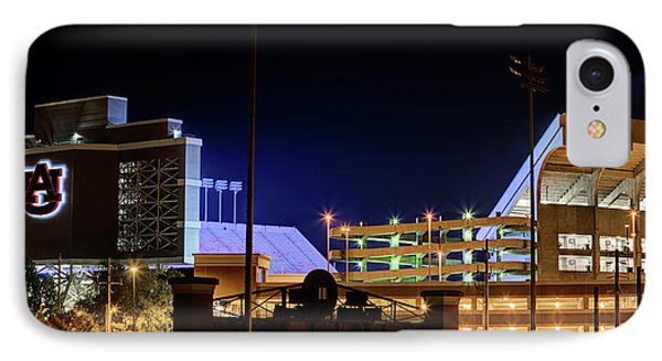Jordan Hare Jumbotron Lights The Night IPhone Case by JC Findley