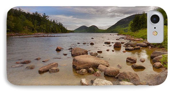 IPhone Case featuring the photograph Jordan Pond  by Stephen  Vecchiotti