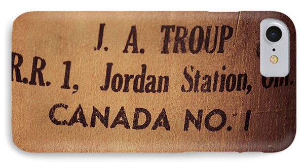 IPhone Case featuring the photograph Jordan Station by Chris Bordeleau