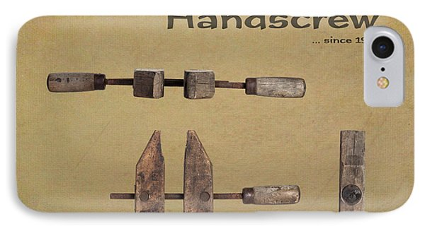 Jorgensen Handscrew IPhone Case by Tom Mc Nemar