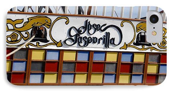 Jose Gasparilla Ship  IPhone Case by David Lee Thompson
