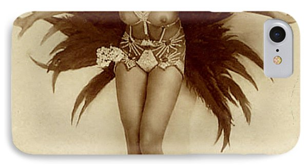 Josephine Baker IPhone Case by Stanislaus Walery