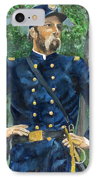 Joshua Chamberlain Phone Case by Bruce Schmalfuss