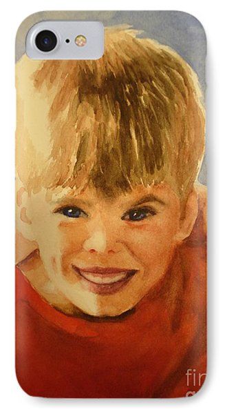 Joshua Phone Case by Marilyn Jacobson