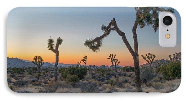Joshua Sunset IPhone 7 Case by Joseph Smith