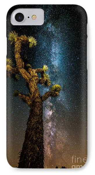 Joshua Tree And Milky Way IPhone Case
