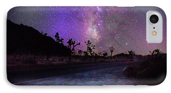 Joshua Tree Milky Way Galax IPhone Case by Timothy Kleszczewski