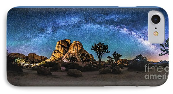 Joshua Tree Milkyway IPhone Case by Robert Loe