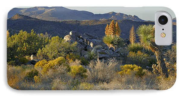 Joshua Tree National Park In California Phone Case by Christine Till