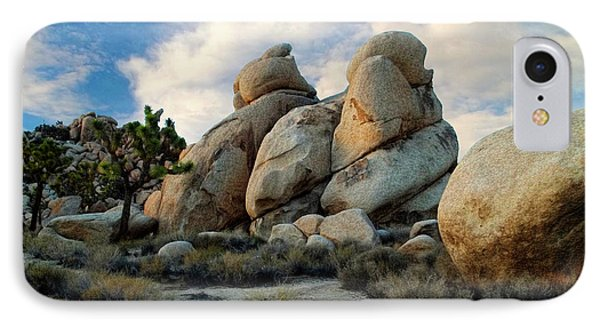Joshua Tree Rock Formations At Dusk  IPhone Case by Glenn McCarthy Art and Photography