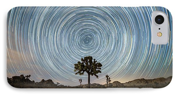 Joshua Tree Star Trails  IPhone Case