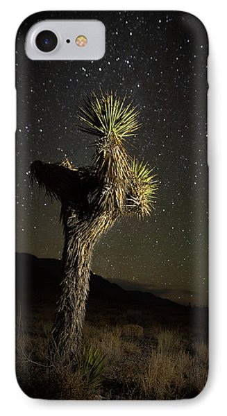 Joshua Tree Starred IPhone Case by Allen Biedrzycki